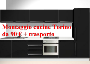 Montaggio cucine Torino – Piccoli Traslochi Torino da 50 €