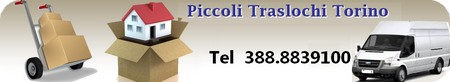 Piccoli Traslochi Torino da 50 €